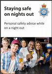 NYP17-0221 - Postcard: Staying safe on a night out